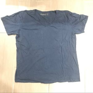 Cotton On Tops - Navy v neck t shirt
